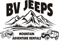 BV Jeeps mountain adventure rentals